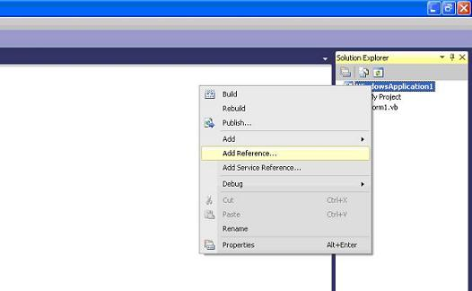 .NET step 2 - Solution Explorer